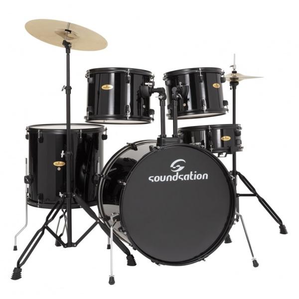 Soundsation Drum kit EDK22B-BK