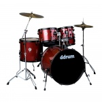 Ddrum 5-Piece Drum Set D2P-RPS