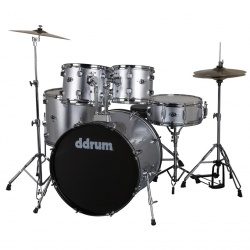 Ddrum 5-Piece Drum Set D2-BS