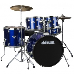 Ddrum 5-Piece Drum Set D2-PB