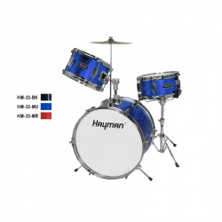 Hayman Junior Series 3-piece drum kit HM-33-MU