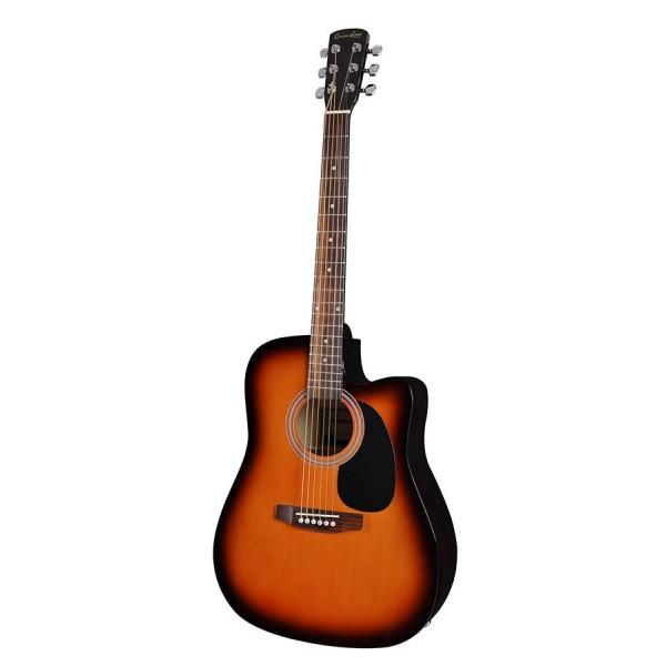 Elektro akustiskā ģitāra GSD-60-CESB