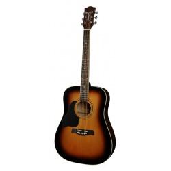Akustiskā ģitāra Richwood RD-12L-SB (kreiļiem)