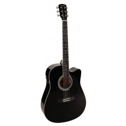 Nashville dreadnought guitar GSD-60-CEBK