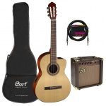 Cort Classical Guitar set AC120CE-NAT-Set