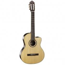 Klasiskā ģitāra ar elektroniku Cort AC160CF-NAT