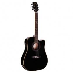 Elektro-akustiskā ģitāra Cort AD880CE BK