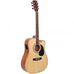 Elektro-akustiskā ģitāra Cort AD880CE NAT