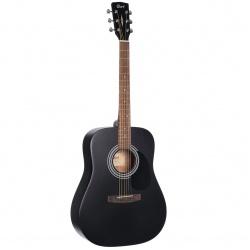 Acoustic Guitar Cort AD810 BKS