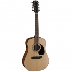12-String Acoustic Guitar Cort AD810-12E-OP