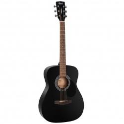 Cort Acoustic Guitar AF510 BKS