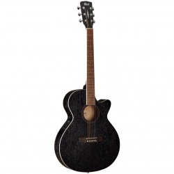 Cort Acoustic Guitar with electronics SFX-AB-OPBK