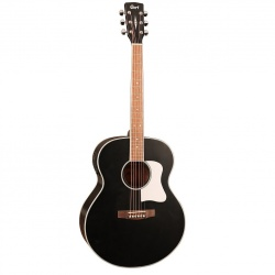 Cort Jumbo acoustic-electric guitar Cort CJ-MEDX-BKS