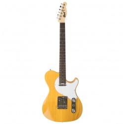 Elektriskā ģitāra Cort Classic TC SBN