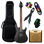 Cort Electric Guitar Kit KX100-BKM-Set