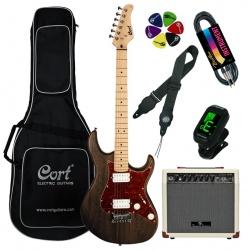 Elektriskās ģitāras komplekts Cort G100HH-OPW-Set