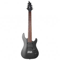 7-stīgu elektriskā ģitāra Cort KX257B-MBLK