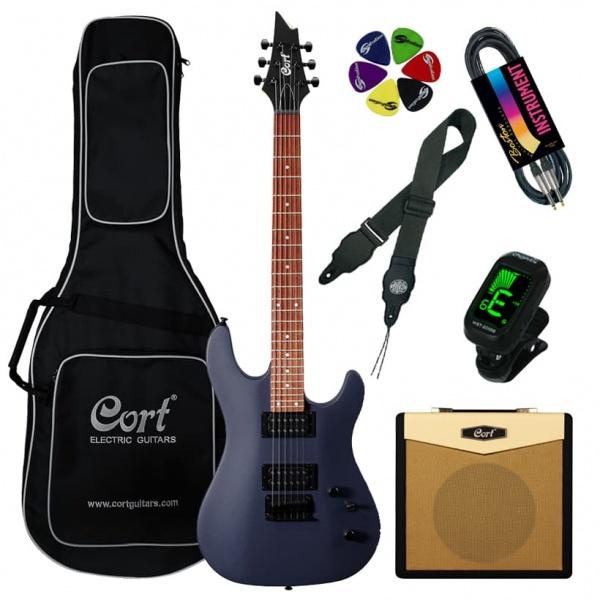 Elektriskās ģitāras komplekts Cort KX100-MA-Set