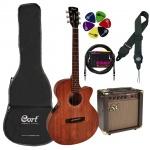 Akustiskās ģitāras komplekts Cort SFX-MEM-Set