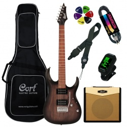 Cort Electric guitar Cort X100-OPBB-Set