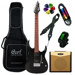 Cort Electric guitar X100-OPBK-Set