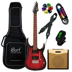 Cort Electric guitar Cort X100-OPBB-Set