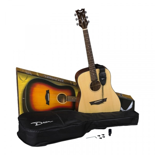 Dean Acoustic Guitar Kit AX-PDY-GN-PK