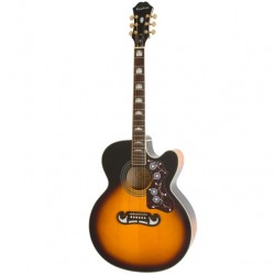 Elektro-akustiskā ģitāra Epiphone EJ200SCE-VS