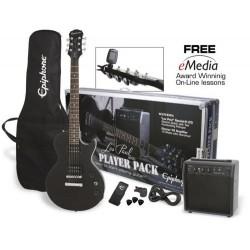Elektriskā ģitāra Epiphone Les Paul Player Pack EB