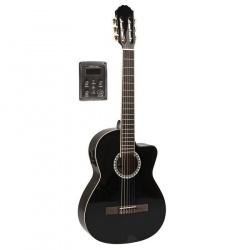 Klasiskā ģitāra Gewa VGS-Basic-BK-Cutaway