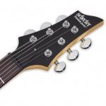 Schecter C-6 Deluxe SBK Electric guitar