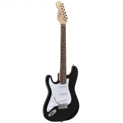 Soundsation left handed electric guitar Rider-STD-SLH-BK