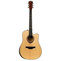 Flight Electro Acoustic guitar AD-555CEQ