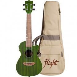 Flight Concert Ukulele DUC-380CEQ-Jade