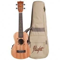 Koncerta ukulele Flight DUC-523-CEQ-MAH/MAH
