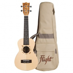 Flight Concert Ukulele DUC-525-SP-ZEB