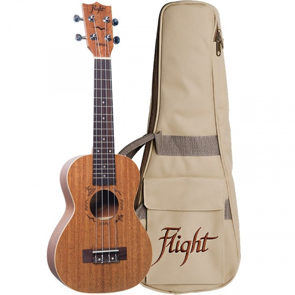 Koncerta ukulele Flight DUC-323-MAH