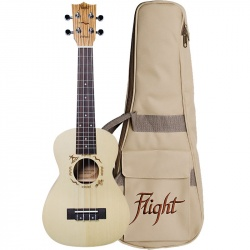 Flight Concert Ukulele DUC-325-SP-ZEB