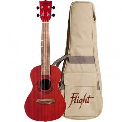 Flight Concert Ukulele DUC-380-Coral