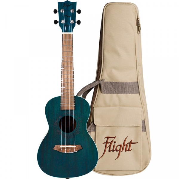 Flight Concert Ukulele DUC-380-Topaz