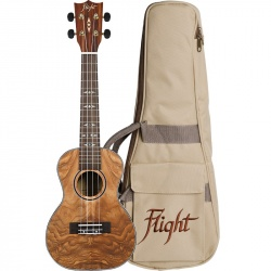 Flight Concert Ukulele DUC-410-QA