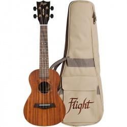 Flight Concert Ukulele DUC-440-KOA