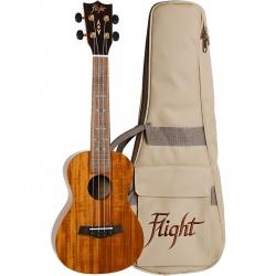 Koncerta ukulele Flight DUC-445-KOA