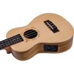 Koncerta elektro-akustiskā ukulele Flight DUC-525CEQ-SP/ZEB