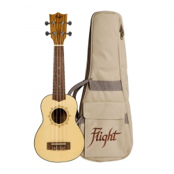 Flight Soprano Ukulele DUS-320-SP-ZEB