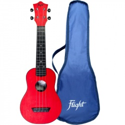 Flight Soprano Travel Ukulele TUS-35-RD