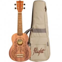 Soprāna ukulele Flight NUS-350-DC