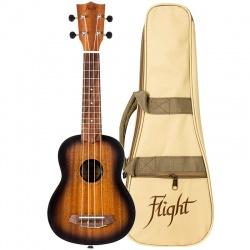 Flight Soprano Ukulele NUS-380-Amber