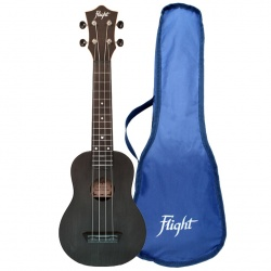 Flight Soprano Travel Ukulele TUS-35-BK