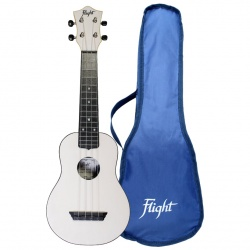Flight Soprano Travel Ukulele TUS-35-WH